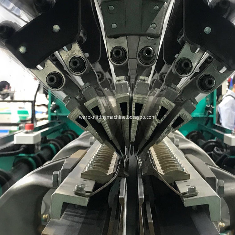 Double Needle Bar Machine Structure