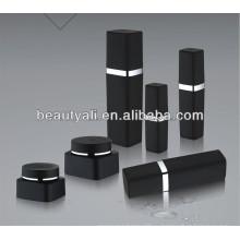 30g 50g Пластичный косметический черный PP Jar