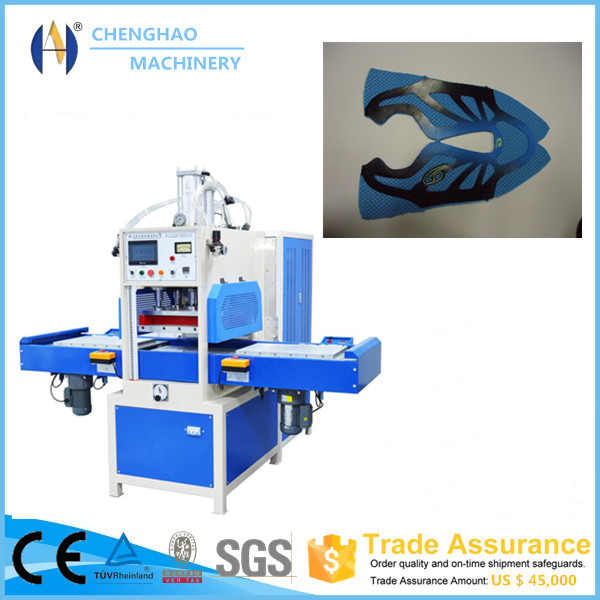 PU Shoe Sole Uppers Logo Embossing Machine