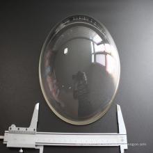 Lente de domo de vidrio óptico BK7 para fotografía