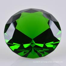 2016 diamante de vidro de cristal colorido para o presente da lembrança do casamento