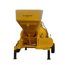 Переносной дизельный или электрический барабанный бетоносмеситель на 350 л
