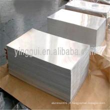 Folha de liga de alumínio 6060 T6