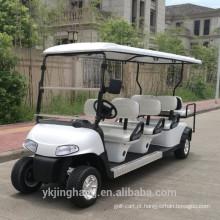 carrinho de golfe popular para 4 pessoas com gás ou bateria