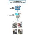 Kundenspezifische Silikonstopfenausrüstung für Gummidichtungen in Lebensmittelqualität