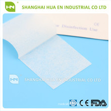 for surgery and sterilizing the 1ply or 2ply 3cmx6cm wound Alcohol non woven Swab