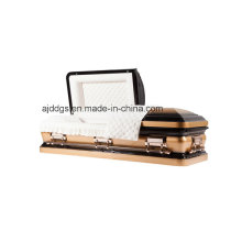 Black and Gold Twotone Casket