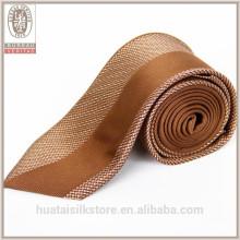 Forro de lana al por mayor Diseño de impresión personalizado su propia corbata de seda