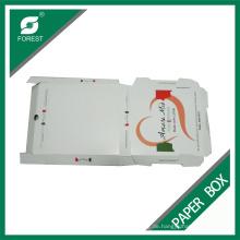 Fabrik billig benutzerdefinierte Farbe Pizza Box in Shanghai