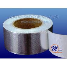 Papier d'aluminium Ruban adhésif thermique, matériau de toiture réfléchissant et argenté Laminage en aluminium feuilleté