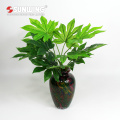 wholesale natural touch palm artificial leaves for decoration with UV