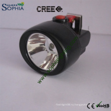 3 Вт Cree светодиодный голова свет голова Факел шлем безопасности Крышка лампы