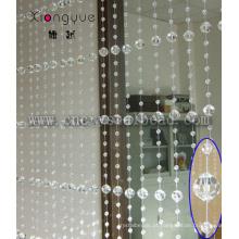 Cortina de cristal de cristal do grânulo Garland diamante Strand