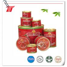 Pasta de tomate (2.2kg enlatada) con marca Gino o marca OEM