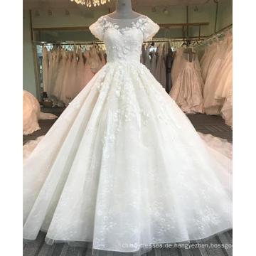 Sexy backless Champagner Frauen Hochzeitskleid 2017 DY015
