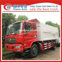 Dongfeng kingrun compresión de acoplamiento camión de basura