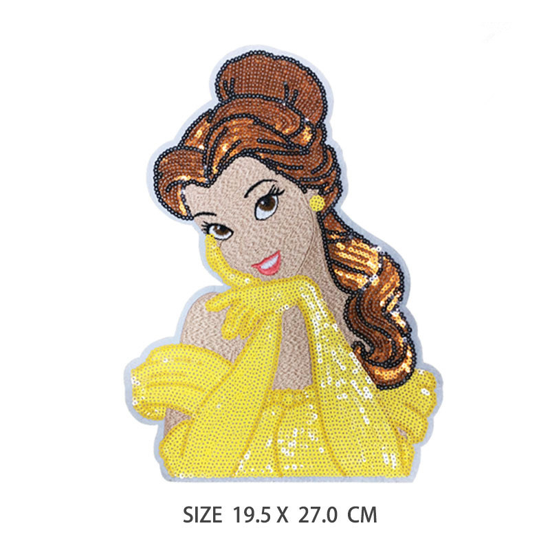 Cartoon Snow Embroidery