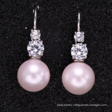 custom made new design pearl earrings with good quality