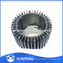 Base de iluminación de aluminio fundido a presión