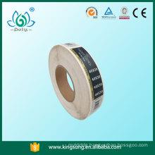 China Custom Glossy Paper self adhesive clothing labels