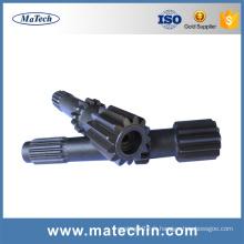 Fabrication sur mesure en acier de bonne qualité en acier forgé forgé extrusion Upset Forgings