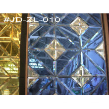 Wall Decoration Crystal Mirror Tile (JD-ZL-010)