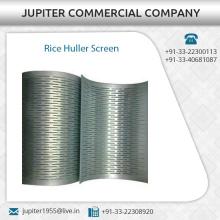 Exportación de exportación de arroz Huller pantalla en diferentes espesores de los fabricantes de renombre