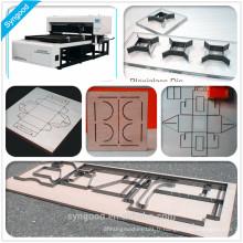 Machine de découpe laser à bas prix Haute précision et 35g / heure Syngood SG1218