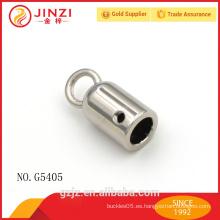 El precio competitivo esterlina cordón de cuero tapas cierre con cierre de alta calidad original Jinzi