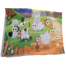 Toalla de mano barata hecha a mano de los niños, toalla de mano de los niños, historieta de la toalla de mano
