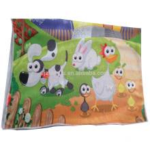 Barato personalizado crianças mão toalha, toalha de mão de crianças, desenhos animados de toalha de mão