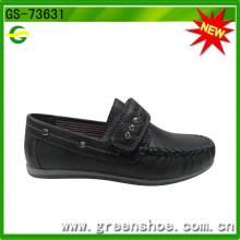 Klett-Flachsohle Formale Softextile Leder Stoff Schuh