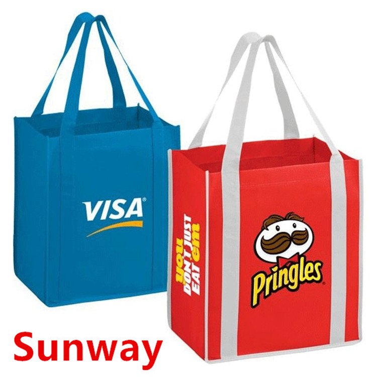 Stand Up Non Woven Totes