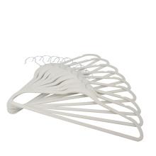 Amazon Hot Sale Flocked Non Slip Velvet Clothes Hangers Space Saving Hanger Velvet For Wholesale
