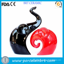 Latest Red and Black Elephant Wedding Home Decoration