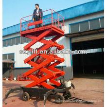 truck mounted aerial work platform/mobile scissor lift