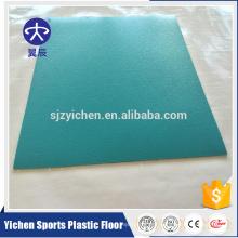 pvc homogeneous floor/shopping mall floor design