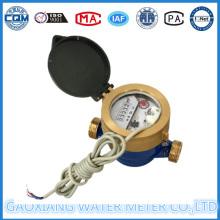 Medidor de água de impulso único com 5 mecanismos
