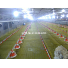 Chicken Farm With Full Set Automatic Poultry Equipment