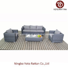 Wicker Rattan Sofa with Three Seater (1506)