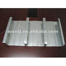Construction en acier galvanisé tôle de tablier en acier