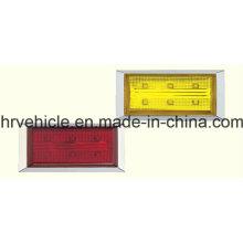 Прямоугольная боковая маркерная лампа для грузовиков