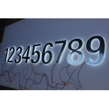 Lettres et chiffres 3D en métal et en acrylique solide