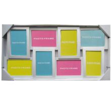 Colagem branca 8-abertura quadros, 4-4 por 6,4-6 por 4 aberturas