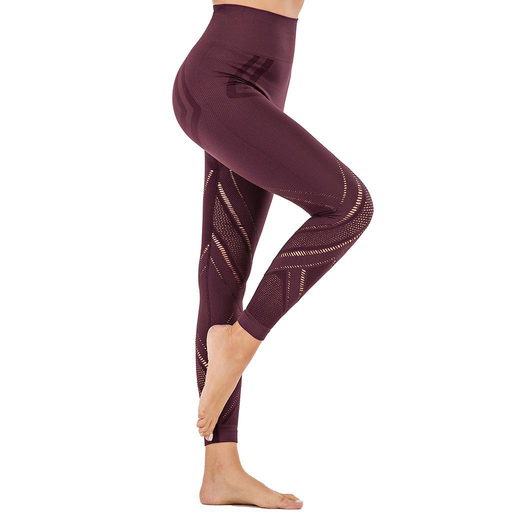 HIGH WAIST PUSH UP ELASTIC pants (3)