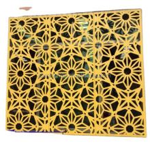 CNC Laser Cut Decorative Metal Sheet as building facade