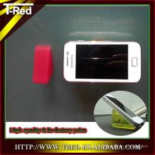 accesorios de moda 100% PU gel fuerte almohadilla pegajosa soporte del teléfono móvil montajes del coche