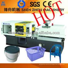 Balde de plástico fazendo máquina / máquina de moldagem por injeção peso tiro: 3715g - 6280g Multi tela para escolha Imported mundo famoso h
