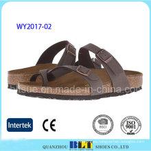 Calzado de estudiante de venta caliente Zapatillas de corcho al aire libre