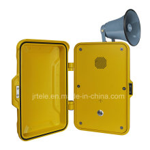 IP Industrial Telephone, Paging Emergency Telephone, 15W/25W Speaker Weatherproof Telephone